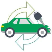 Rental Cars Icons