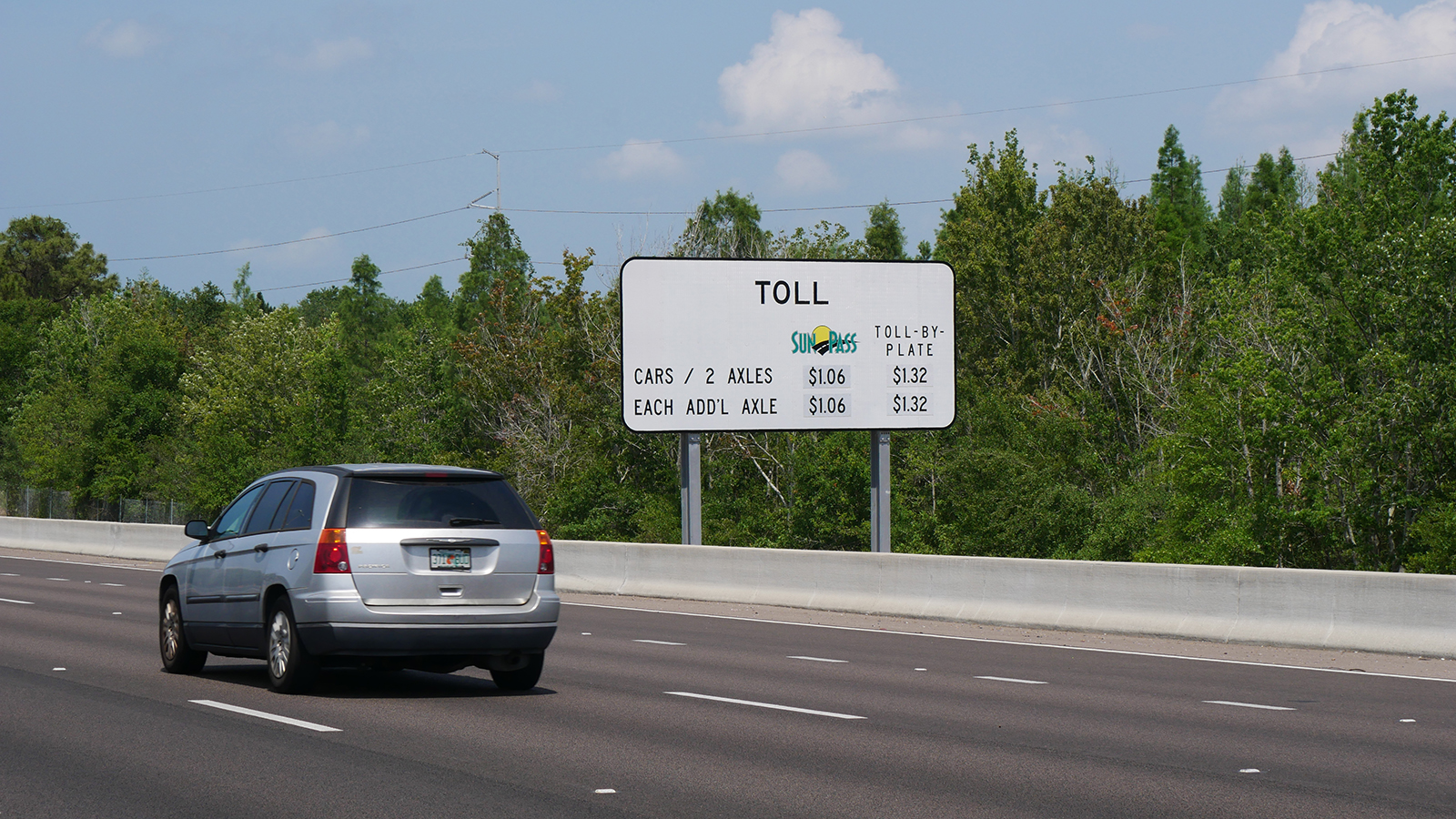 Toll By Plate Image