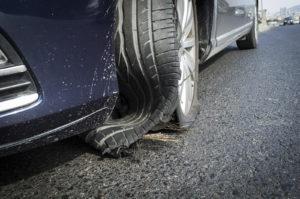 damaged tire image