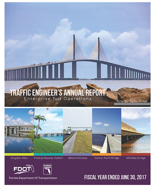 Traffic Engineer's Annual Report 2017 Cover