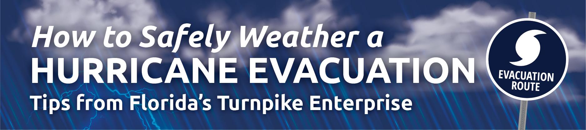 Hurricane Evacuation Infographic