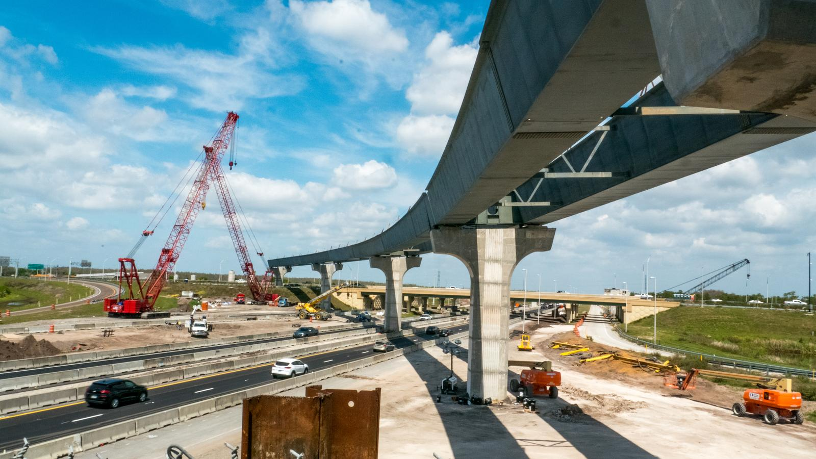 S.R. 417 and Turnpike Interchange Construction